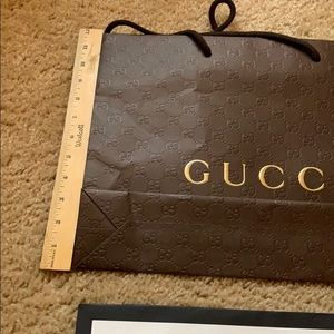 Bags - 2 Gucci shopping bags two total authentic
